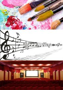 Arte,Musica e Cinema
