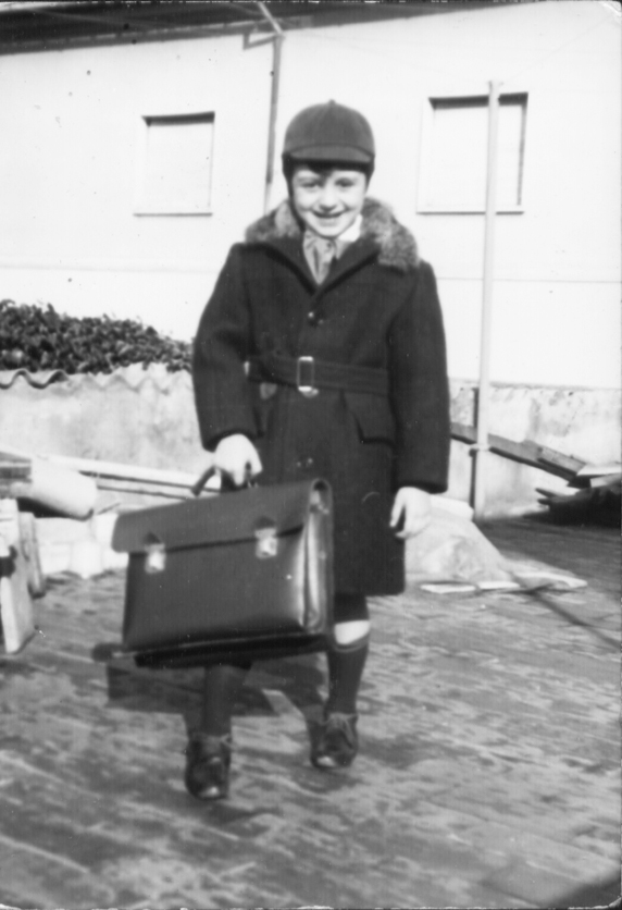 I°giorno di scuola.1964