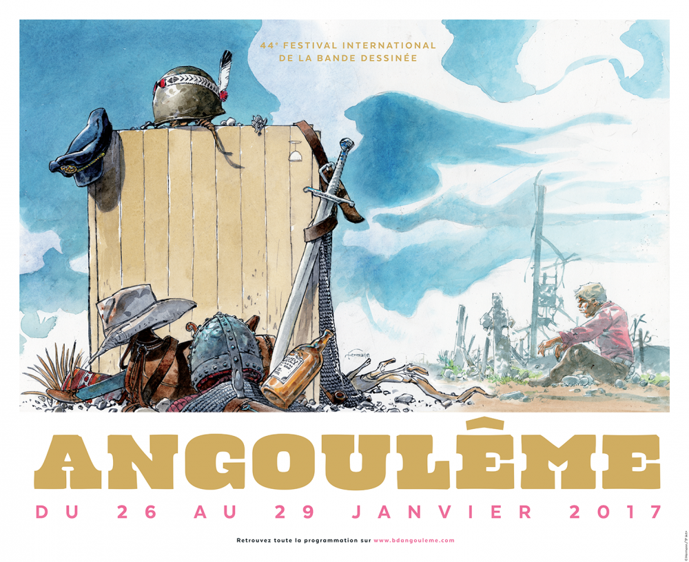 Affiche Angouleme.2017