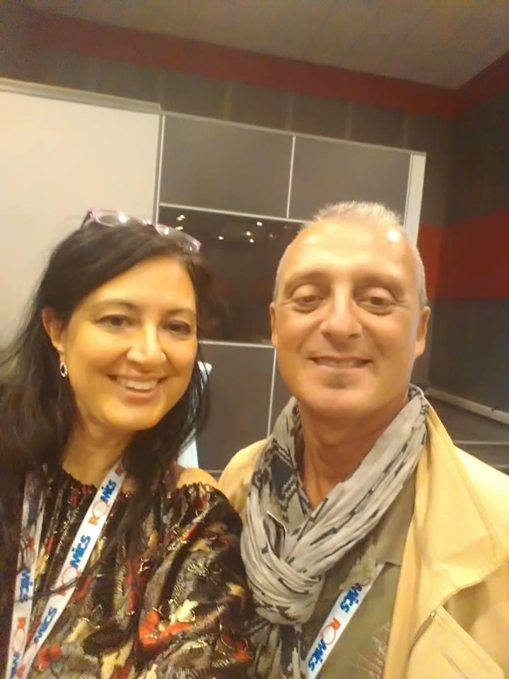 Con Sabrina Perucca